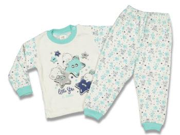 Пижама 3-4 года бирюза 86756