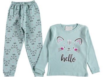 Пижама детская бирюзовая 315697